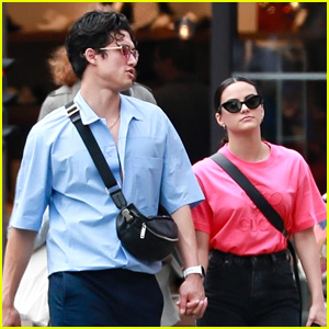 Camila Mendes & Charles Melton Hold Hands In Paris Ahead of RiverCon2 Convention