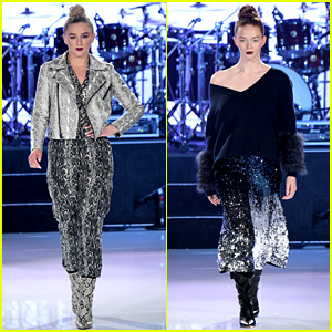 Chloe Lukasiak & Larsen Thompson Hit the Runway at Race to Erase MS Gala