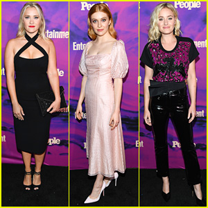 Emily Osment Joins AJ Michalka, Kennedy McMann & More at EW's Upfronts Party in NYC