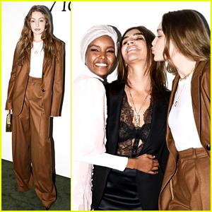 Gigi Hadid Supports a Friend Ahead of the Met Gala