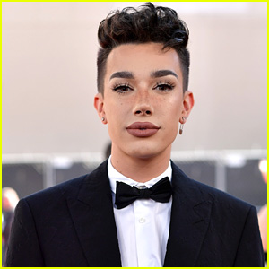 James Charles Attends Kylie Jenner's Kylie Skin Launch Party After YouTube Drama