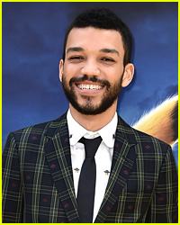 Justice Smith Is Talking All About 'Detective Pikachu'