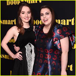 Kaitlyn Dever Premieres New Movie 'Booksmart' in London With Beanie Feldstein