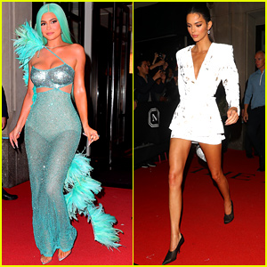 Kylie Jenner Channels Her Inner Mermaid at Met Gala 2019 After-Party