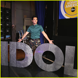 American Idol's Laine Hardy Can't Wait to Get Home To His Mom!