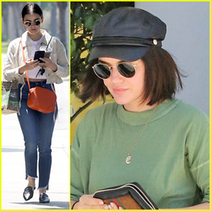 Lucy Hale's Dog Elvis Pouts Over Her Throwing Out Some Of His Old Toys