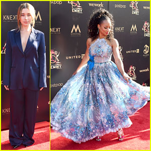 Olesya Rulin Steps In As 'High School Musical' Co-Star Monique Coleman's Daytime Emmys Date!