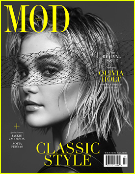 Olivia Holt Opens Up About Keeping Her Friends Close Despite Being Far Apart with 'Mod' Magazine