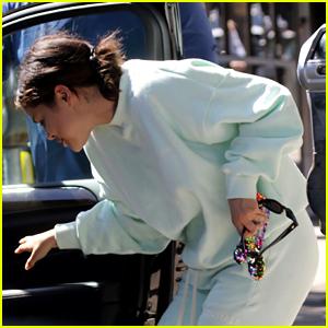 Selena Gomez Has a Cool Mickey Ears Phone Case!