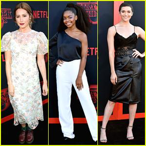 Ashley Tisdale, Marsai Martin, Alyson Stoner & More Attend 'Stranger Things' Premiere
