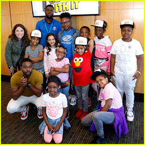 Disney's 'Just Roll With It' Cast Invite Boys & Girls Club to Afternoon of Fun