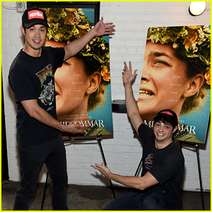 Noah Centineo & Ross Butler Buddy Up for Some Scares!