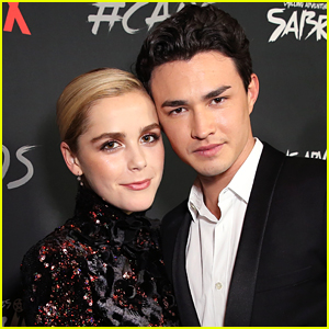 Kiernan Shipka & Gavin Leatherwood Celebrate National Selfie Day!