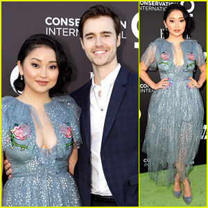 Lana Condor & Anthony De La Torre Couple at 'Elle' Women On a Mission Gala