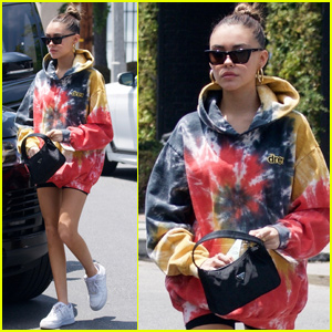 Madison Beer Reps Justin Bieber's Clothing Line While Out in LA