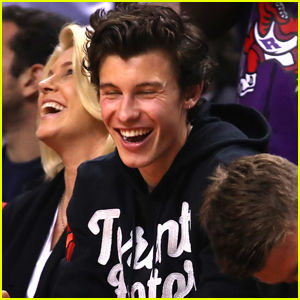 Shawn Mendes Has a Blast at NBA Finals 2019!