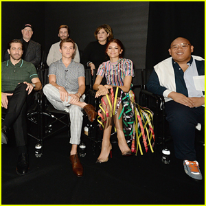 Tom Holland & Zendaya Joins 'Spider-Man: Far From Home' Cast For Facebook Live Photo Call