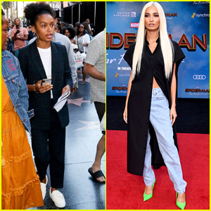Yara Shahidi, Pia Mia, and Other Celebs Step Out for the 'Spider-Man: Far From Home' Premiere