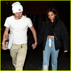 Brooklyn Beckham Takes Home Three Copies of Girlfriend Hana Cross's New Magazine Cover!