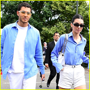 Kendall Jenner Attends Final Day of Wimbledon With Pal Fai Khadra