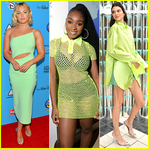 Celebs Are Picking Neon Green For The Color Of Summer 2019!