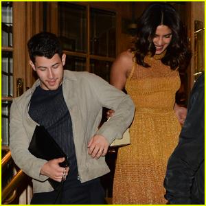 Nick Jonas & Priyanka Chopra Enjoy a Night Out in London!