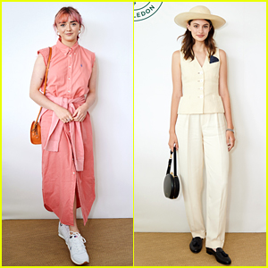 Maisie Williams & Diana Silvers Stop By Wimbledon!