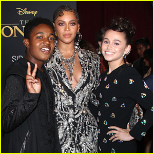 'Raven's Home' Cast Meet Beyonce at 'The Lion King' Premiere - See The Pics!