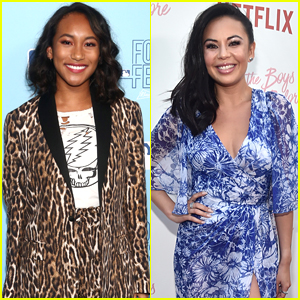 Sydney Park Supports Janel Parrish at 'The Last Five Years'!