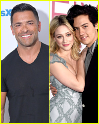 This Is How Mark Consuelos Found Out About 'Riverdale' Co-Stars Lili Reinhart & Cole Sprouse's Break Up