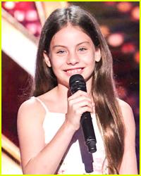 10 Year Old Opera Singer Emanne Beasha Gets Golden Buzzer On 'America's Got Talent'