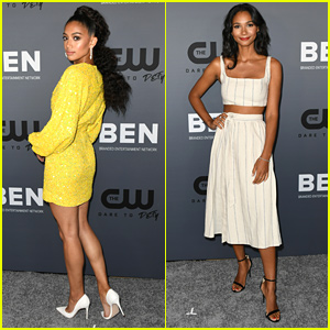 'All American' Stars Samantha Logan & Greta Onieogou Stun at CW's Summer TCA Party