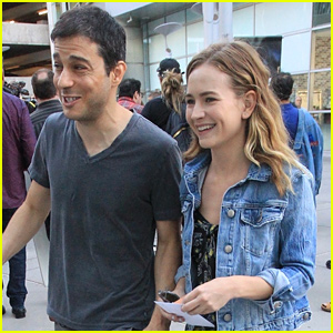 Britt Robertson Steps Out For a Movie Night With a Friend