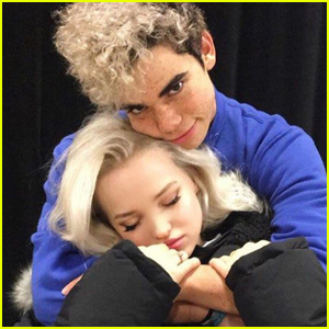 Dove Cameron Celebrates the Launch of Cameron Boyce's 'Wielding Peace' Project