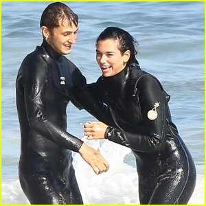 Dua Lipa Couples Up With Boyfriend Anwar Hadid in Malibu
