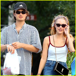 Maika Monroe & Joe Keery Shop The Weekend Away