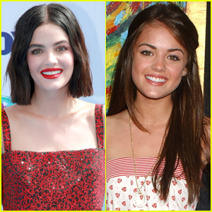 Lucy Hale Looks Back on Her First Red Carpet Photo