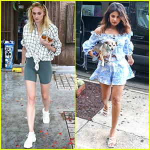 Priyanka Chopra Brings Pup Diana For Shopping Trip With Sophie Turner