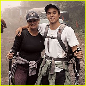 The Vamps' Bradley Simpson Climbs Mount Fuji - See the Pics!
