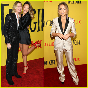 Ava Michelle & Sabrina Carpenter Celebrate The Premiere of 'Tall Girl'