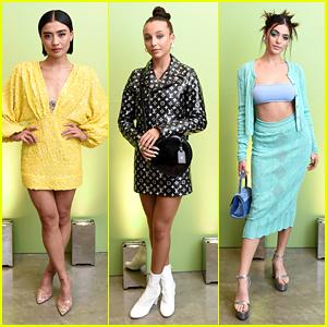 Brianne Tju, Emma Chamberlain & Luna Blaise Celebrate The Next Generation With 'Teen Vogue'