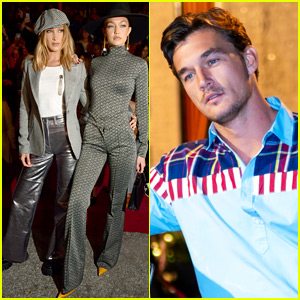 Gigi Hadid Brings Tyler Cameron to Fashion Week Show!