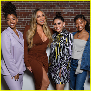 Chloe x Halle & Francia Raisa Meet Mariah Carey at 'Embrace Your Ish' Party!