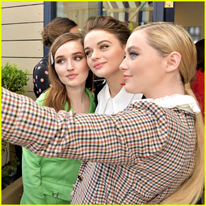 Joey King Hangs Out with Kaitlyn Dever & Kathryn Newton at Tory Burch x Glamour Luncheon!