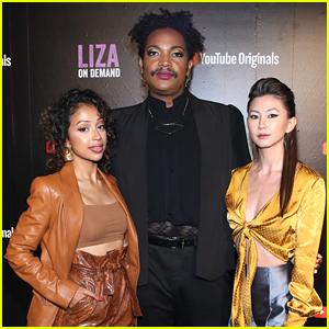 Liza Koshy Premieres 'Liza On Demand' Season 2 With Co-Stars Kimiko Glenn & Travis Coles