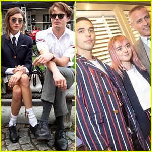 Stranger Things' Natalia Dyer & Charlie Heaton Couple Up During NYFW!