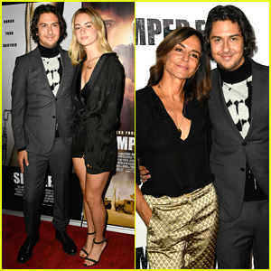 Nat Wolff Gets Support From 2 Special Ladies at 'Semper Fi' Screening