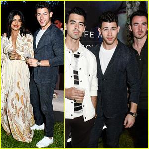 Nick Jonas & Priyanka Chopra Have a Night Out in the Hamptons