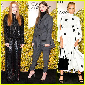 Sadie Sink & Natalia Dyer Step Out For Vanity Fair's Best Dressed List Party