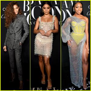 Zendaya, Vanessa Hudgens & Normani Step Out For Harper's Bazaar Icons Party!